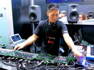 Roland AIRA + DJ Nishi Kenichiro