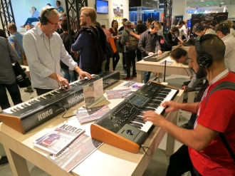 MM 2015 – Korg booth